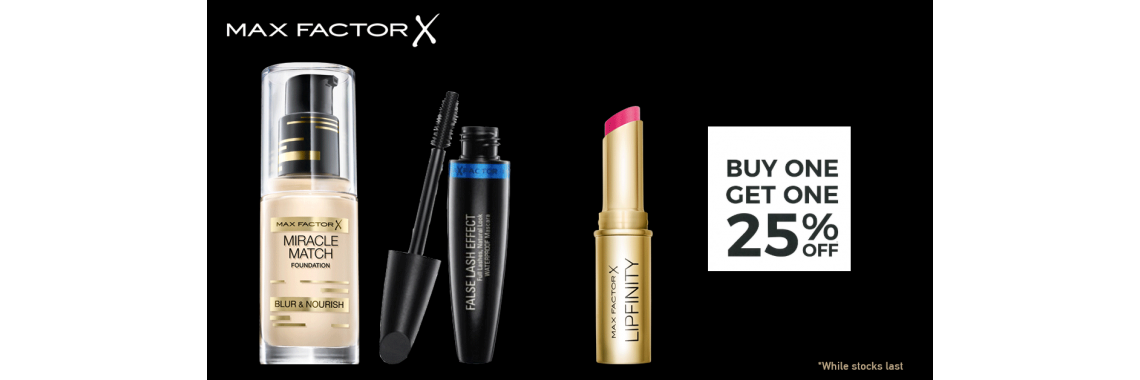 Max factor Offer