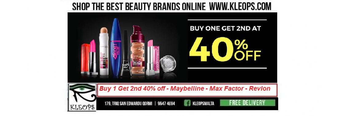 Buy 1 Get 1 40% Off