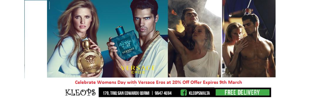 Versace Eros 20% Off
