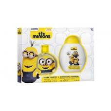 Minions 2 pc Gift Set EDT 100ml & Shower Gel/Shampoo 300ml
