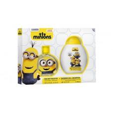 Minions 2 pc Gift Set EDT 100ml & Shower Gel/Shampoo 300ml
