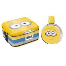 Minions for Kids 2 Piece Gift Set with Edt and Minion Box