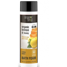 Organic Shop Bath Foam Smooth Skin Lemon & Honey 500ml