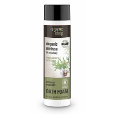 Organic Shop Bath Foam Organic Melissa & Rosemary 500ml