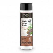 Organic Shop Bath Foam Organic Cocoa & Milk 500ml