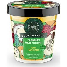 Organic Shop Body Desserts  Caribbean Fruit Cocktail Tonic Bath Foam 450ml
