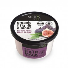 Organic Shop Organic fig & almond Express Shine Hair Mask 250ml