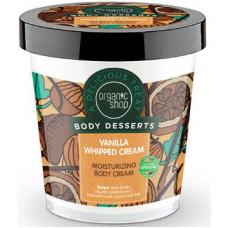 Organic Shop Body Desserts  Vanilla Whipped Cream Moisturizing Body Cream 450ml