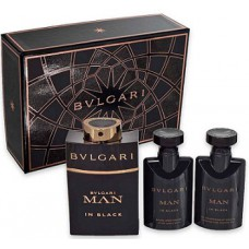 Bulgari Man In Black Perfume Gift Set For Men