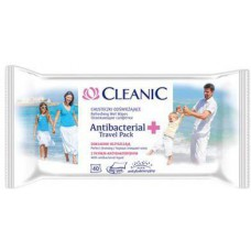 Cleanic Antibacterial Travel pack x 40
