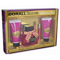 Creation Lamis Dorall Collection Love You Like Crazy 4 piece Gift Set  For Women