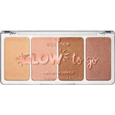 Essence Glow to Go Highlighter Palette Sunkissed Glow
