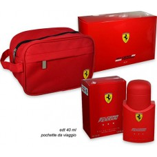 Ferrari Red EDT + Travel Bag  Gift Pack