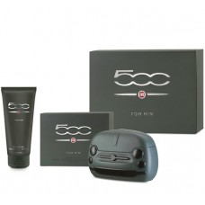 Fiat 500 him edt 100 ml + shower gel 200 ml For Men