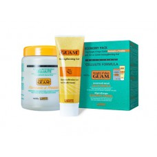 Guam FIR Seaweed Mud Treatment Cold Formula Economy Pack Anti Cellulite