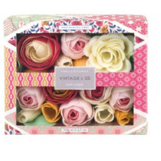 Heathcote & Ivory Fabric & Flowers Soap Flowers