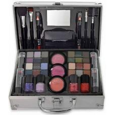 Markwins Bon Voyage Grey Makeup Case