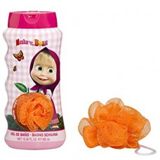 Disney Masha and the Bear Bubble Bath & Sponge 450ml