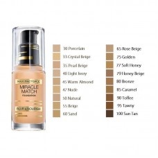 MAX FACTOR MIRACLE MATCH FOUNDATION (3 COLOURS)