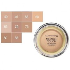 MAX FACTOR MIRACLE TOUCH SKIN SMOOTHING FOUNDATION (6 COLOURS)