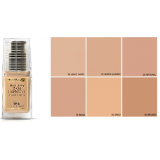 MAX FACTOR HEALTHY SKIN HARMONY MIRACLE FOUNDATION SPF 20 (10 COLOURS)