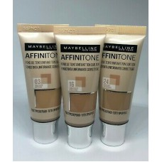 Maybelline Affinitone Unifying Foundation (4 shades)