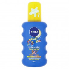 Nivea Sun Kids Moisturising Sun Spray 200ml SPF 50