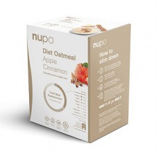 Nupo Diet Oatmeal Apple & Cinnamon Meal Replacement