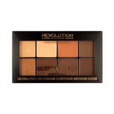 Revolution HD Pro Cream Contour Medium Dark Palette