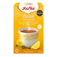 Yogi Tea Organic Detox with Lemon