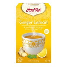 Yogi Tea Organic Ginger Lemon