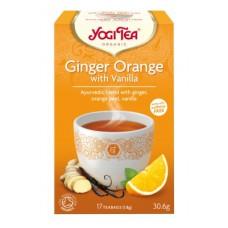 Yogi Tea Organic Ginger Orange with Vanilla
